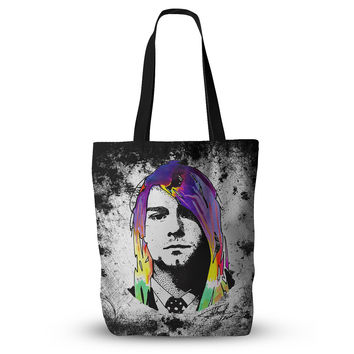 "Ivan Joh ""Grunge"" Pop Art Lavender Everything Tote Bag"