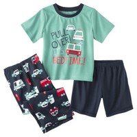 Just One You™ Made by Carter's® Infant Toddler Boys' 3-Piece Bed Time Pajama Set