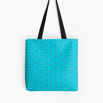 'Abstract Turquoise Pattern 10' Tote Bag by ADCreations