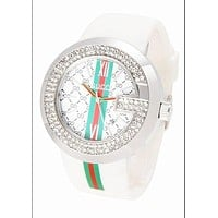 GUCCI Ladies Men Fashion Quartz Watches Wrist Watch