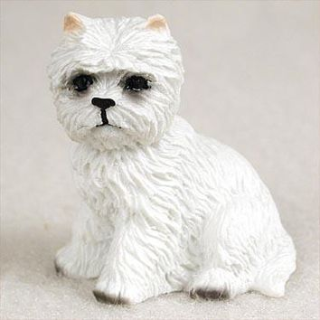 WEST HIGHLAND TERRIER TINY ONE FIGURINE