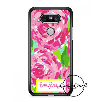 Lilly Pulitzer First Impression Rose Inspired Lg G6 Case | casescraft