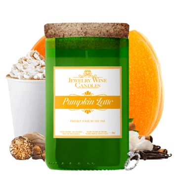 Pumpkin Latte | Jewelry Wine Candle®