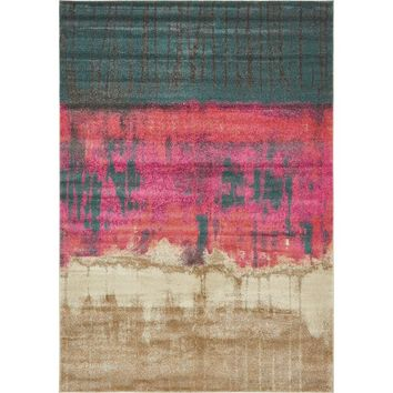 Coakley Traditional Pink Area Rug
