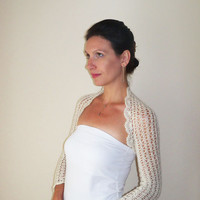 Bridal Angora Bolero Shrug Custom Order for Marie