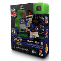OYO NFL Baltimore Ravens Ray Rice AFC Champions Figure