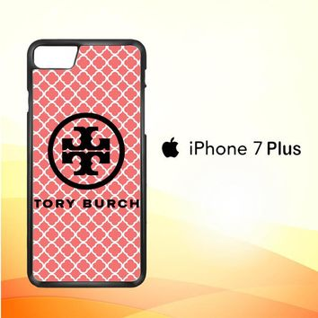 tory burch logo pattern Z4955 iPhone 7 Plus Case