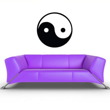 Wall Vinyl Sticker Decals Decor Art Bedroom Design Mural Wall Decal Symbol Taoism (Daoism) Yin and yang Native Inks Egypt (z285)
