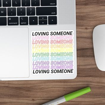 'Loving someone' Sticker by daanielasm