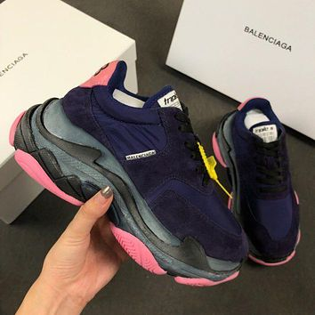 Balenciaga Triple-S Xia Gu jogging shoes-19