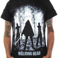 ROCKWORLDEAST - The Walking Dead, T-Shirt, Michonne Walkers