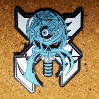 Excision hat pins for sale LE 40, with back stamp glow in the dark