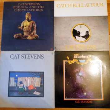 CaT STeVENS LoT vintage music records albums LPs vinyl