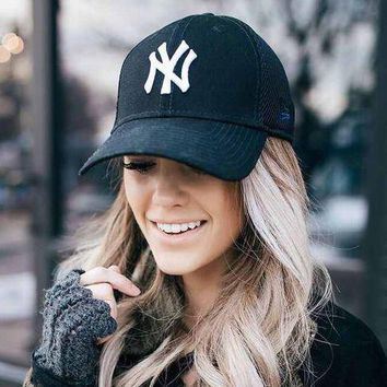 NY Casual Embroidery Sport Cap Sunshade Baseball Hat Cap