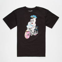 Neff Donut Hog Mens T-Shirt Black  In Sizes