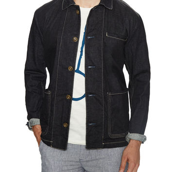 Moods of Norway Men's Jonas Dale Denim Jacket - Dark Blue/Navy -