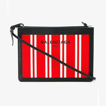 STRIPE CROSS-BODY BAG