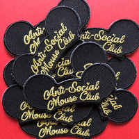 Anti Social Mouse Club Patch