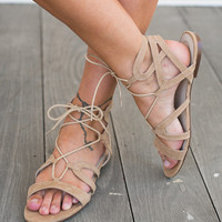 Wrapping Sandals (nude) - LIPSTIK