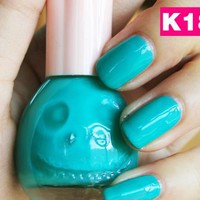 [5821-Mint Blue] Sweet Tiffany Blue Nail Art/ Nail Polish