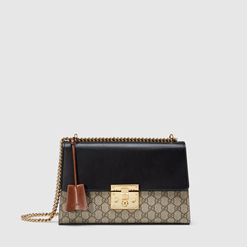 Gucci - Padlock GG Supreme Shoulder Bag 409486KLQJG9785