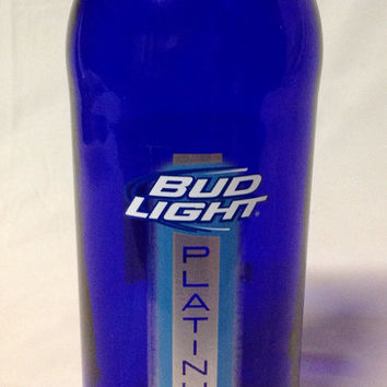 Bud Light Platinum Beer Bottle Vase. by RandomCraftsBySundee