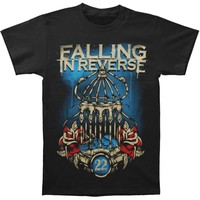 Falling In Reverse Men's  Birdcage T-shirt Black