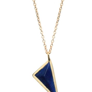 CH Prism Gemstone Necklace