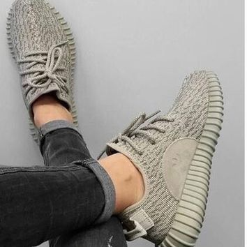Adidas yeezy boost 350 men's and women's fashion sports shoes F Khaki