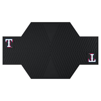 Texas Rangers MLB Motorcycle Mat (82.5in L x 42in W)