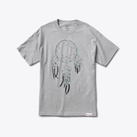 Dream Catcher Tee in Heather Grey