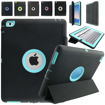 Heavy Duty Kid Safe Rugged Silicone Case for Apple iPad