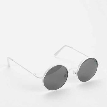 Follow The Lines Round Sunglasses