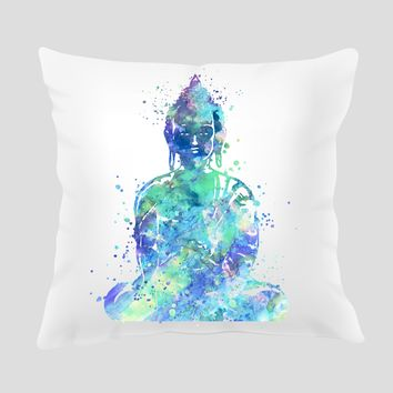 Buddha Throw Pillow