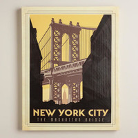 VINTAGE-STYLE NEW YORK CITY POSTER