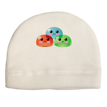 Cute RPG Slime - Trio Child Fleece Beanie Cap Hat by TooLoud