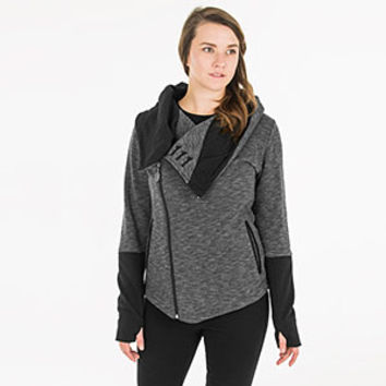 Heather Vault 111 Ladies' ANGL Hoodie