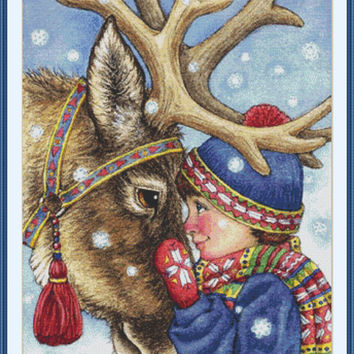 The spirit of Christmas CROSS STITCH PATTERN 846