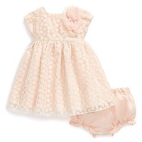 Infant Girl's Pippa & Julie Embroidered Overlay Dress