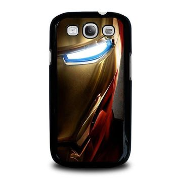 iron man face samsung galaxy s3 case cover  number 1