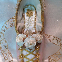Romeo and Juliet, Aurora, Coppelia, Sugar Plum Fairy, Nutcracker Marzipan, Nutcracker Reed Flute, Giselle. Decorative pointe shoe.