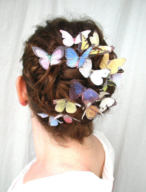 the butterfly house your choice of three by katescottage2 on Etsy