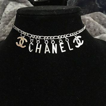 ESB3DS New// Letter Charm Necklace// Free Gift