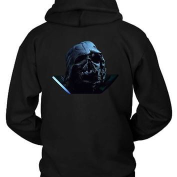 Star Wars The Force Awakens Darth Vader Broken Helmet Photo Hoodie Two Sided
