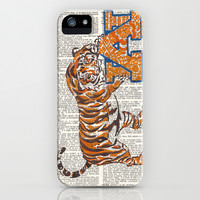 War Eagle (Auburn Tiger) iPhone & iPod Case by Janin Wise   Society6