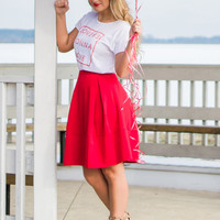 New York Minute Skirt