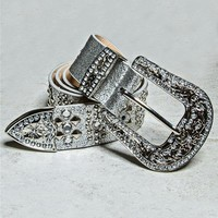 Stud Diamond Belt
