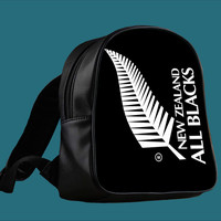 Rugby New Zealand All Blacks for Backpack / Custom Bag / School Bag / Children Bag / Custom School Bag *