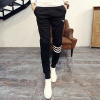 Autumn Skinny Pants Print Casual Pants Sportswear [6539649283]