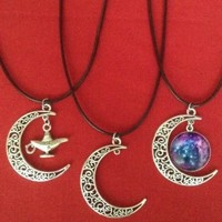 Crescent Moon Choker Collection